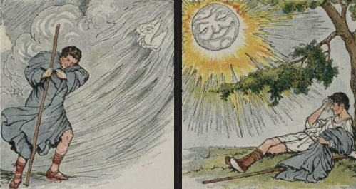 Aesop Fable The Wind and the Sun