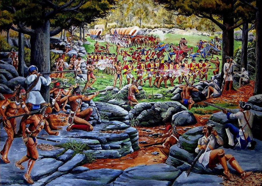 General Braddock's Defeat at Monongahela